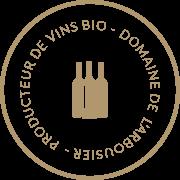 Label - Producteur de vins bio Montpellier - Domaine Saint Jean de l'Arbousier