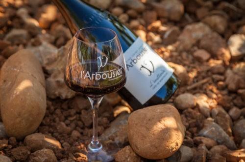 Photo - Composition Vin bouteille verre - Terroir - L'Inattendu - Domaine Saint Jean de l'Arbousier