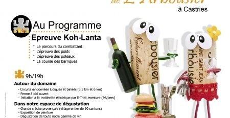 Affiche fête des vignes 2018 - Oenotourisme Montpellier