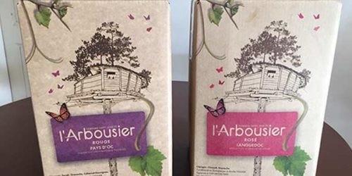 Photo - cubi rouge et rosé - Pays d'oc - Domaine Saint Jean de l'Arbousier