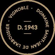 Label - Vignoble 1943- Domaine Saint Jean de l'Arbousier