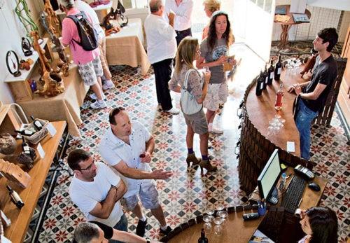 Photo Oenotourisme - Événement - Foire aux vins - visiteurs