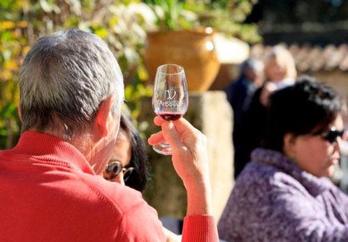 Photo Oenotourisme - dégustation vin - verre Domaine Saint Jean de l'Arbousier